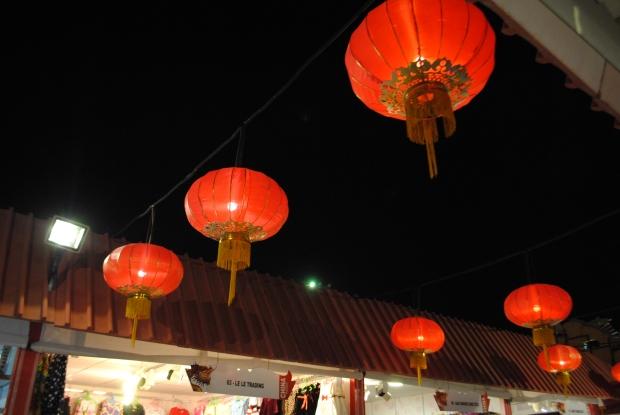 These lanterns just scream China!
